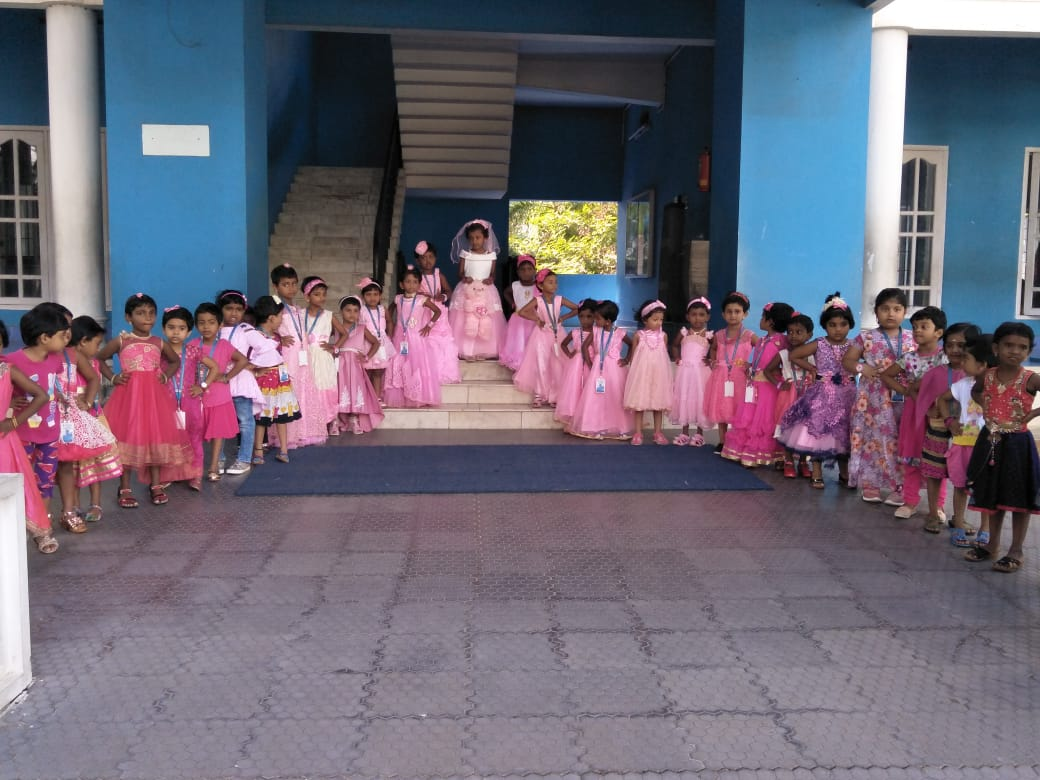 Peppy Pink Day For KG